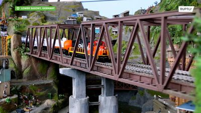 See the world's next largest model train set in Bispingen
