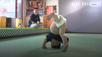 Chinese breakdancing toddler becomes social media celebrity