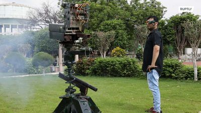 Indian inventor creates 'Smart Defence Goggles' to remotely fire weapons up to 1.5km away