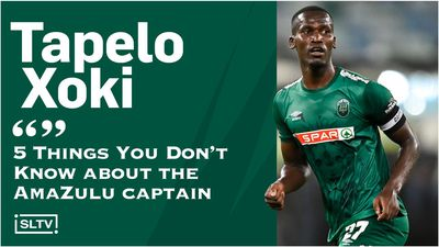 Tapelo Xoki Interview: 5 Things You Don't Know about the AmaZulu captain