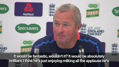 """I think he's just enjoying milking all the applause"" - Paul Fabrace on Alastair Cook"