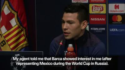 Playing for Barcelona 'would be a dream come true' - PSV's Lozano