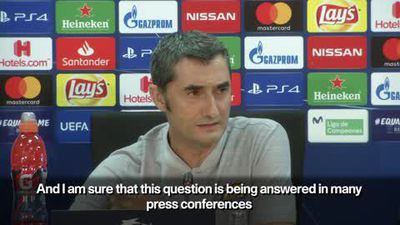 Barcelona 'want to win' Champions League - Valverde