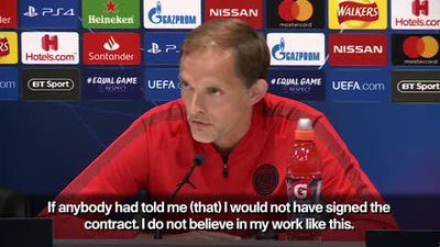 Tuchel denies he must win Champions League with PSG this season