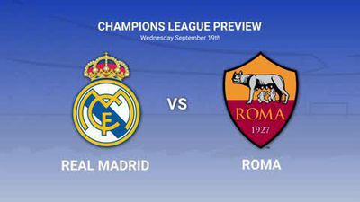 Real Madrid vs Roma Champions League data preview