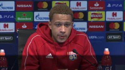 Lyon train and talk ahead of Champions League match with Manchester City
