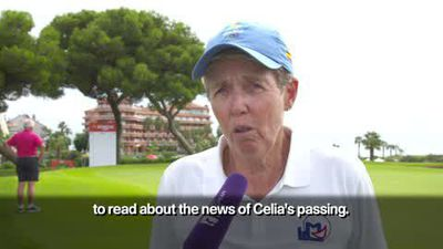 LET golfers pay tribute to 'brilliant' Celia Barquin