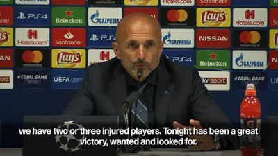 Inter's win over Spurs a 'great victory' - Spalletti