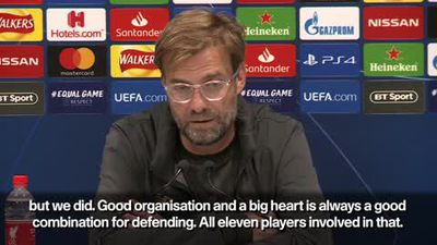 Klopp reacts to PSG win and 'special' atmosphere at Anfield