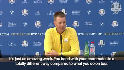 Stenson - these will memories for rest of career