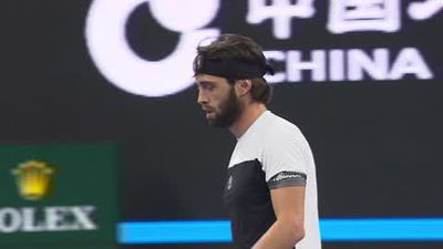 Basilasvili upsets top seed del Potro in China Open final