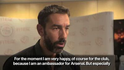 '100% Arsenal in the top four' - Pires tips Emery for success