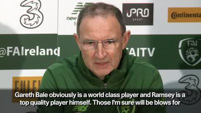 """""""Wales will be OK without Bale & Ramsay"""" Ireland's O'Neill"""