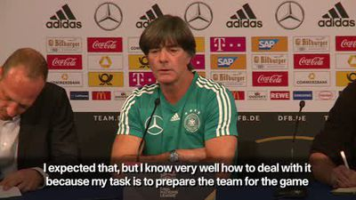 'Normal being heavily criticised' - Löw