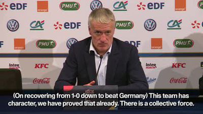 This France team 'never gives up' - Deschamps