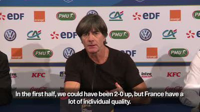 Germany 'courageously battled' but penalty 'unjust' - Löw