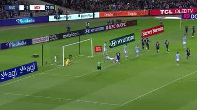 Debut goal for Honda not enough to stop City winning the Melbourne derby