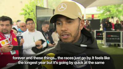 Hamilton wants to 'enjoy the moment' after taking pole at US Grand Prix