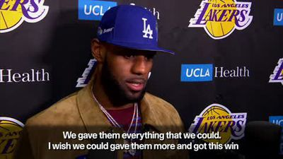"""""""It was very electric"""" LeBron James"""