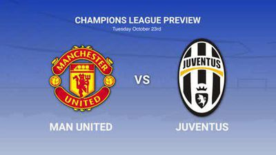 Data preview to Man Utd v Juventus in the Champions League