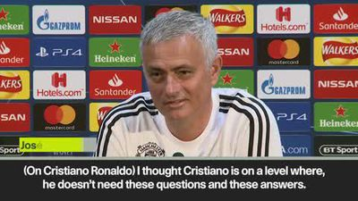 Ronaldo 'one of the best of all time' and Sanchez out for Juve tie - Mourinho