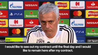 Mourinho rules out return to Real Madrid