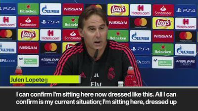 """Lopetegui """"We are all going to fight"""" at Real Madrid"""
