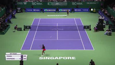 Wins for Stephens and Bertens at WTA Finals