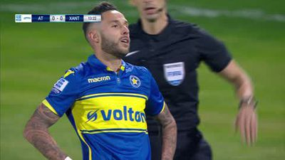 Xanthi win 1-0 away at Asteras Tripolis in the Greek Super League