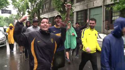 Fan travels 10,000 kilometres for called off Boca match