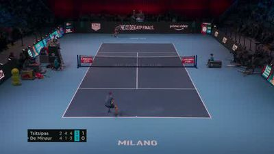 Tsitsipas beats De Minaur to win Next Gen ATP Finals