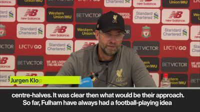 Klopp not sympathic after Fulham's Mitrovic has goal disallowed in Liverpool's 2-0 win