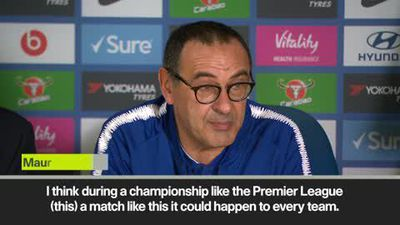 '100 points for City and Liverpool' - Sarri admits Chelsea will struggle to challenge