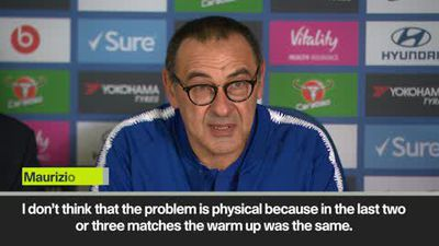 """Maybe Chelsea has a mental problem"" Sarri"