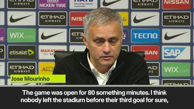 Mourinho blames Man City loss on fatigue from Juventus match