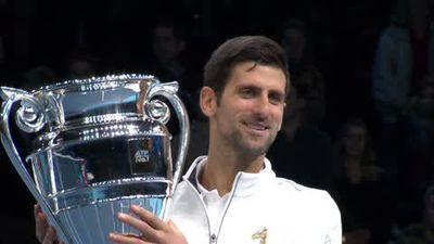 'A dream come true' Djokovic on World No1 award