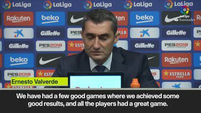 'Barcelona lacked intensity' - Valverde reflects on La Liga defeat