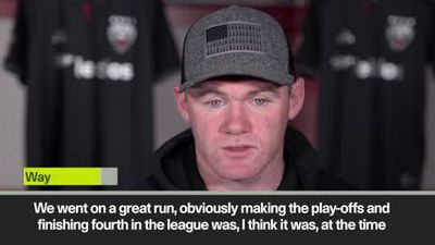 Rooney reflects on 1st season in MLS and plans for xmas
