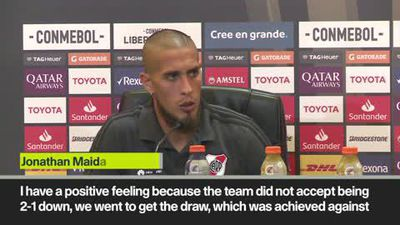 'I live with the pain' Boca's Schelotto after 2-2 draw with River in Libertadores final first leg
