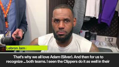 """Just how do we clean this up"" Lebron James on Thousand Oaks shootings"