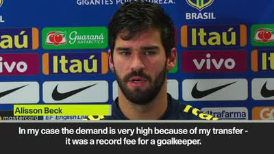 'I work to reach perfection' Alisson