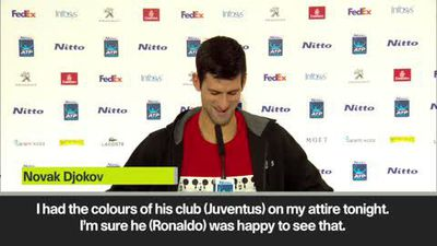 'I played in Juve colours, Ronaldo must be happy' Djokovic