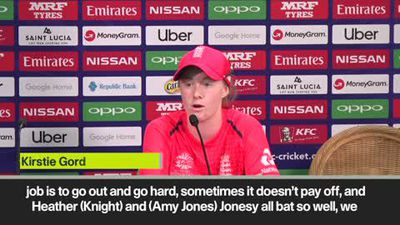 'I did not expect to be out here' Reaction after England beat Bangladesh at ICC WWT20