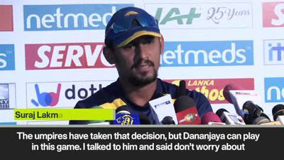 'It's never nice' Root on Dananjaya after his action was reported