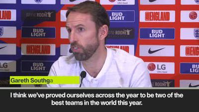 'England and Croatia two best teams in the world' Southgate
