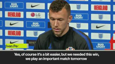 Perisic expects a tight match at Wembley