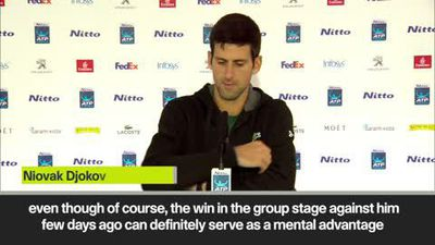Djokovic expects a 'different match' against Zverev in the final