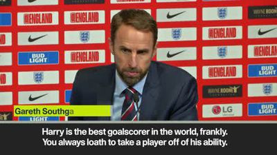 'Kane is the best goalscorer in the world' Southgate