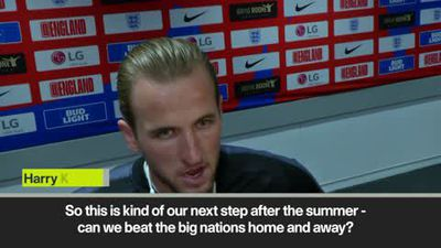 'England two wins away from winning a trophy' Kane