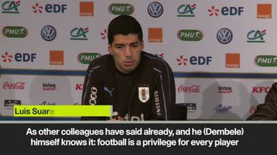 'Dembele should be more responsible' Suarez on his Barca teammate